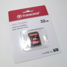 Transcend 32GB SD UHS-ISD 600X Class 10 ( 90MB/s ) memory card