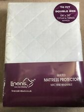 Linens Quilted Double Bed Matress Protector