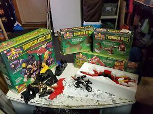 Vintage Mighty Morphin Power Rangers Dragon Zord, power Zord, thunder bike  Lot