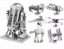 New 3D Star Wars Miniature Metal Model Construction Kits Gift Laser Cut Kit Set