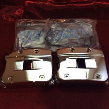Harley chrome evo rocker boX set 84-99 big twin with gasket