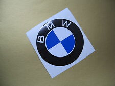 BMW plain roundel sticker/decal x2