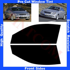 Pre Cut Window Tint Mercedes CLK C209 Coupe 2D 2003-2009 Front Sides AnyShade