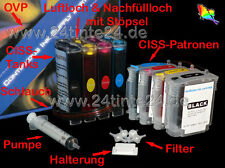 CISS HP BUSINESS INKJET 2200 2230 2250 cp1700 10 11 13 c4844 c4836 c4838 c4837 4