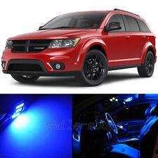 11×Blue LED Interior Light Package Kit for Dodge Journey 2009-2015
