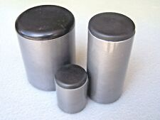 """Plastic Insert Caps the open end of 2-1/2"""" Round Tube 14-18 ga wall/ 4 PAK"""