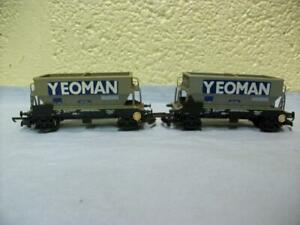 50t Hopper Mineral Wagon x 2 PR14001 'Yeoman' Lima No 305635 '00' Very Light Use