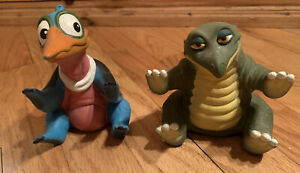 Vintage Land Before Time Rubber Dinosaurs Hand Puppet Pizza Hut Toys Petrie 1988