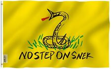 ANLEY [Fly Breeze] 3x5 Foot No Step On Snek Flag - Vivid Color UV Fade Resistant