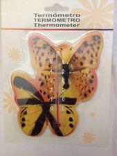 Termometro Farfalle Ambra da Interno/Esterno 20cm C°  - Nuovo