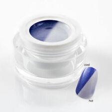 5 ml UV Thermogel / Colorgel / Farbgel - Thermo Glimmer Blau - Weiss - 107-062