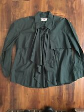 Marni Top Sz 44 Designer Women's Green