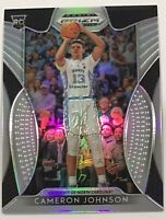 2019-20 Prizm Draft Picks Silver Prizm Cameron Johnson Rookie Card Home