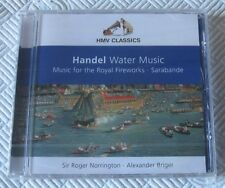 Hadel - Water Music - Sir Roger Norrington - Scarce New Sealed Cd Album