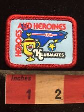 Colorful Klubmates HEROES & HEROINES Patch - Airplane Medal & Trophy 77WI