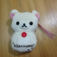 San-X Rilakkuma Plush Doll Mascot Korilakkuma plush doll stuffed toy Pass case