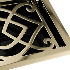 Naiture Steel Floor Register Victorian Style In 9 Sizes and 7 Finishes