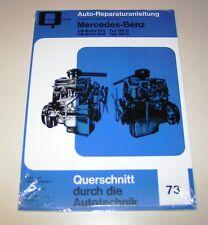 Reparaturanleitung Mercedes Dieselmotor OM 621 / OM 626 für Mercedes 190D / 180D