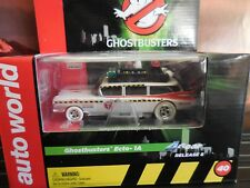 AUTO WORLD ~ I Wheels Ghostbusters ECTO 1A ~ New in Jewel ~ Also Fits AFX, AW