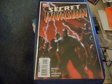 Secret Invasion (2008) lot; 1 - 7, Front Line 1 - 2, plus more; 14 issue lot/run