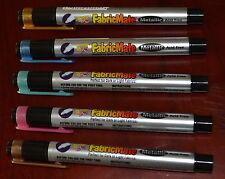 Yasutomo FabricMate Metallic Acid Free Pens set  Rose Green Blue Bronze Copper