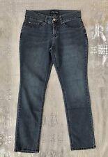 Lee Riders Slim Straight Leg Jeans Mid Rise Stretch Denim Women's Size 10 P