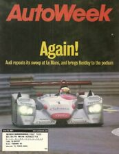 AUTOWEEK 2001 JUNE 25 - AUDI SWEEPS LeMANS, LANCER, 38 DODGE AIRFLOW TANKER