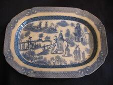 "RARE RALPH WEDGWOOD/FERRYBRIDGE 'ELEPHANT & HOWDAH'  19"" MEAT PLATTER  c.1800"