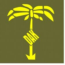 DAK Afrikakorps Fahrzeug Aufkleber Gelb Vehicle Sticker Wehrmacht WH WWII WK2