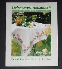 Rita Laude Design,Liebenswert romantisch,Frankfurter Handarbeiten,FHA Creation 9