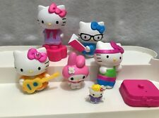 McDonald's Happy Meal Hello Kitty Figure Toy Lot 2013 2016