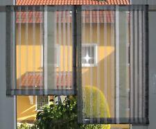 Scheibengardinen 2 x Breite 38 x Höhe 49/64 cm- neu - modern Gardine Paneel