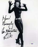 Lee Meriwether Psa Dna Coa Hand Signed 8x10 Catwoman Photo Autograph