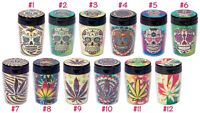 Fujima Glow in the Dark Extinguishing Car Holder Ashtray Sugar Skull_Leaf