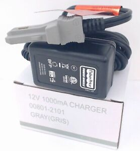 Power Wheels Grey 12V Grey Battery Charger 00801-1480, 00801-1778, 00801-2101