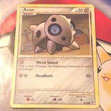 Pokemon Cards - Aron #42/90 Undaunted HGSS [NM+] (2010)