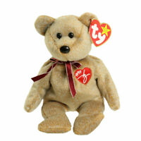 TY Beanie Baby - 1999 SIGNATURE BEAR (8.5 inch) - MWMTs Stuffed Animal Toy