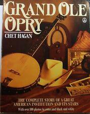 Hagan - Grand Ole Opry - SIGNED by Acuff, Pearl, Wagoner, Skaggs, Shelton, Meyer
