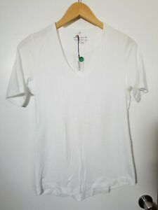 1 NWT PETER MILLAR WOMEN'S T-SHIRT, SIZE: X-SMALL, COLOR: WHITE (J168)