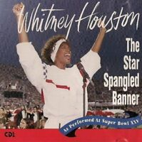 Whitney Houston Single CD Star Spangled Banner/America The Beautiful US Import🆕