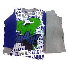 Avengers Schlafanzug aus Baumwolle Jersey und Hosen Lang Verschiedene