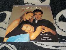 Three of Hearts Laserdisc LD William Baldwin Kelly Lynch Free Ship $30 Orders