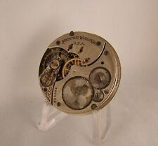 116 YEARS OLD MOVEMENT DIAL ROCKFORD 11 JEWELS  HUNTER CASE 16s POCKET WATCH