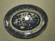 """Vintage Churchill Made in England 14 13/16"""" Oval Serving Platter"""