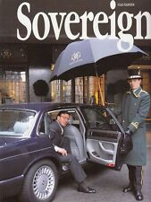 SOVEREIGN JAGUAR Magazin Prospekt 1995 Vorstellung XJ Long Wheelbase +++++++++++