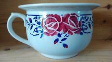 Pot de chambre Luneville Keller et Guérin modèle Les roses