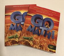 GO MATH! Student Edition & Practice Book Bundle Grade 2 Common Core Edition