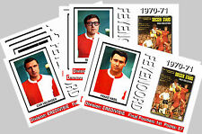 FEYENOORD - 1970/71 SERIES 1 - COLLECTORS POSTCARD SET