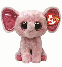 "TY Beanie Boo 6"" Ellie the Elephant 15cm - Collectable Plush"