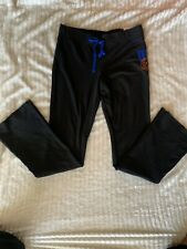 Florida Gators Victorias Secret Pink Yoga University Pants Black SZ Large NWT